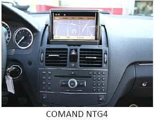 DVD Mercedes NTG4-204 Comand Map 2019 V16 A2048270800